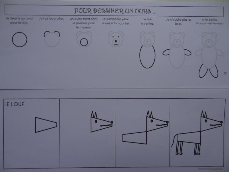 Apprendre dessiner - Comment dessiner un ours ...