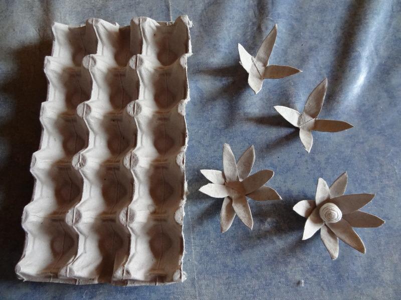 Activites printemps page 3 - Comment faire des fleurs avec des boites a oeufs ...