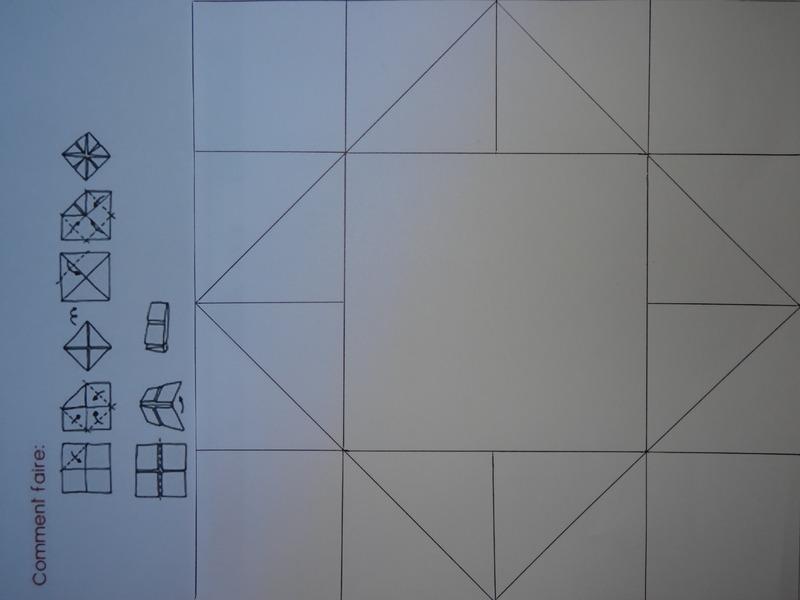 Jeu de la cocotte en papier - Fabriquer une cocotte en papier ...