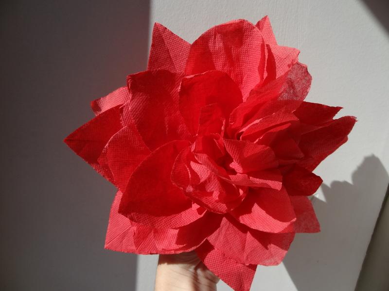 Fleur En Serviette Papier Centerblog