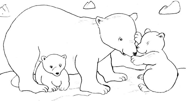 Activites coloriages animaux - Coloriage de ours ...