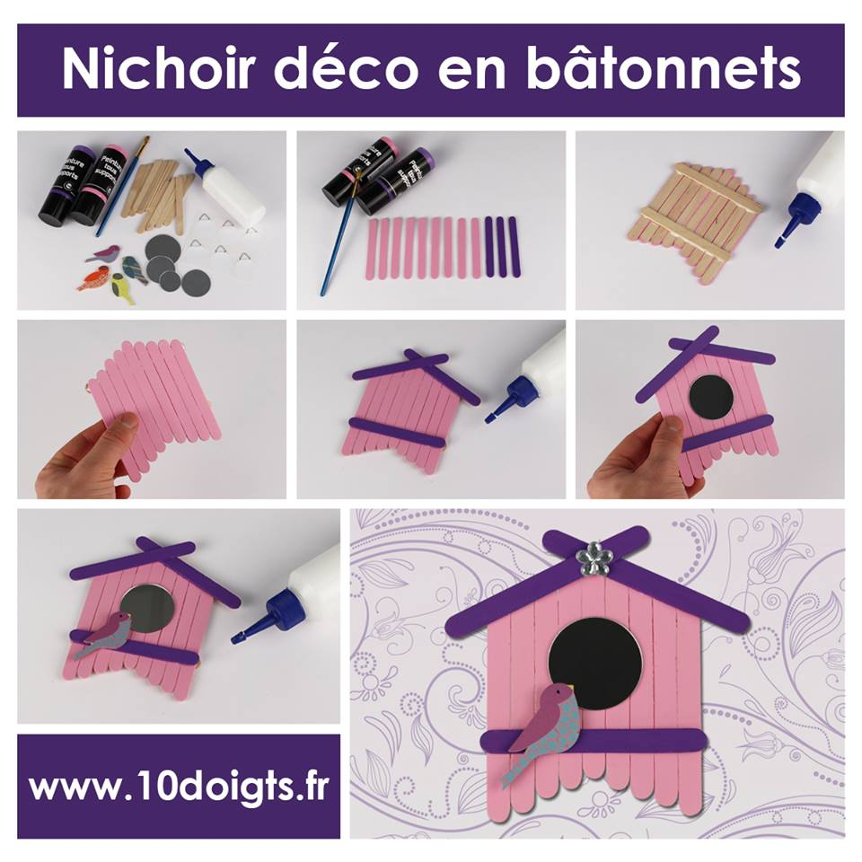 petits nichoirs. Black Bedroom Furniture Sets. Home Design Ideas