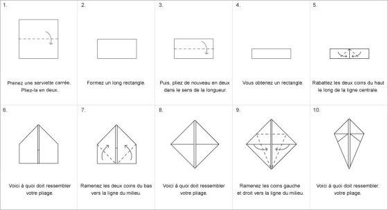 un peu d 39 origami. Black Bedroom Furniture Sets. Home Design Ideas